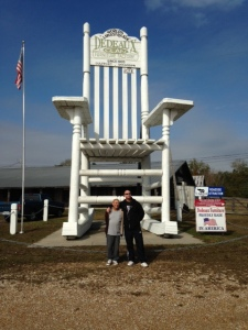 World's Largest Rocking Chair, located in Gulfport Mississippi