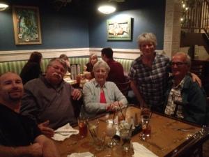 The RV Park dinner gang