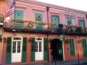 The famous Pat Obrien's Bar