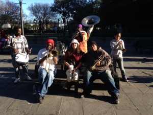 me with the Jackson Square All Stars