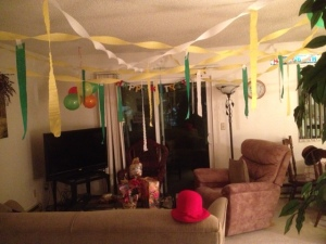 Check out all the decorations!