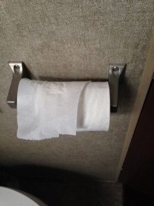The good RV toilet paper costs $3.17 for a pack of 4