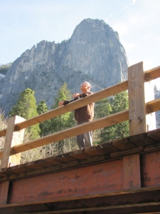 Papa soaking up the scenery