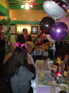 There was even a live Mariachi band that played