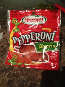 Add a little kick with jalapeño pepperoni