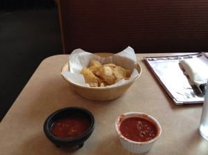 The BEST chips and salsa around at La Cabana in Post falls