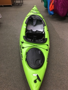 This is the kayak we've decided on and will out on the lake next month! It's a an Elie Sound 100 XE