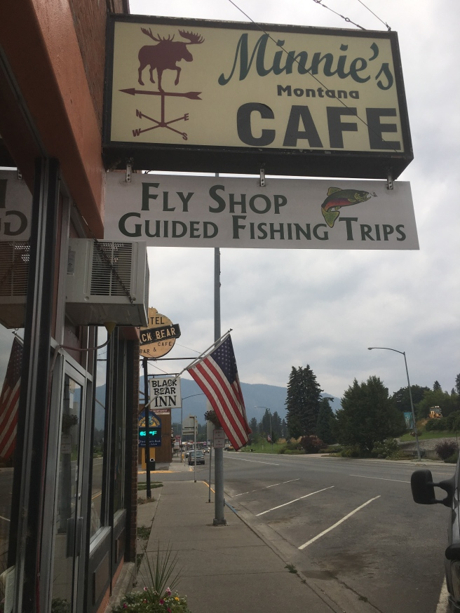 Small town cafe with a wide variety of food... and pies